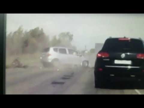 На севере Астраханской области в ДТП погибла семья с маленькими детьми