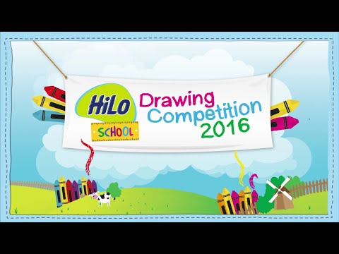 HiLo School Drawing Competition 2016