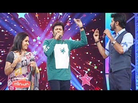 Super Star Junior- 5 | Epi - 48 | Manoj K Jayan as Guest | Songs - Christy, Krishna & Sreelakshmi |