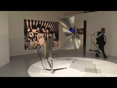 Visit to the Baschet Room of the Nice Modern Art Gallery 2019