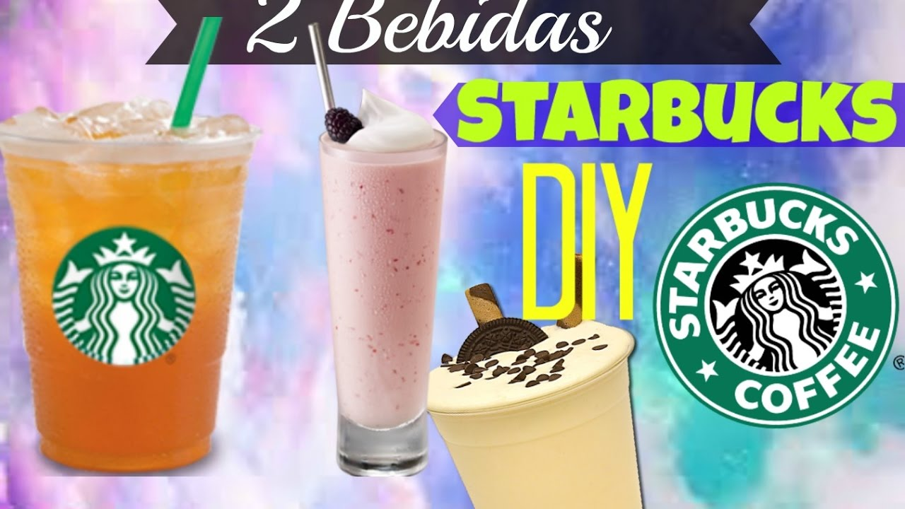 Starbucks Secret Menu | Recetas starbucks, Bebidas de