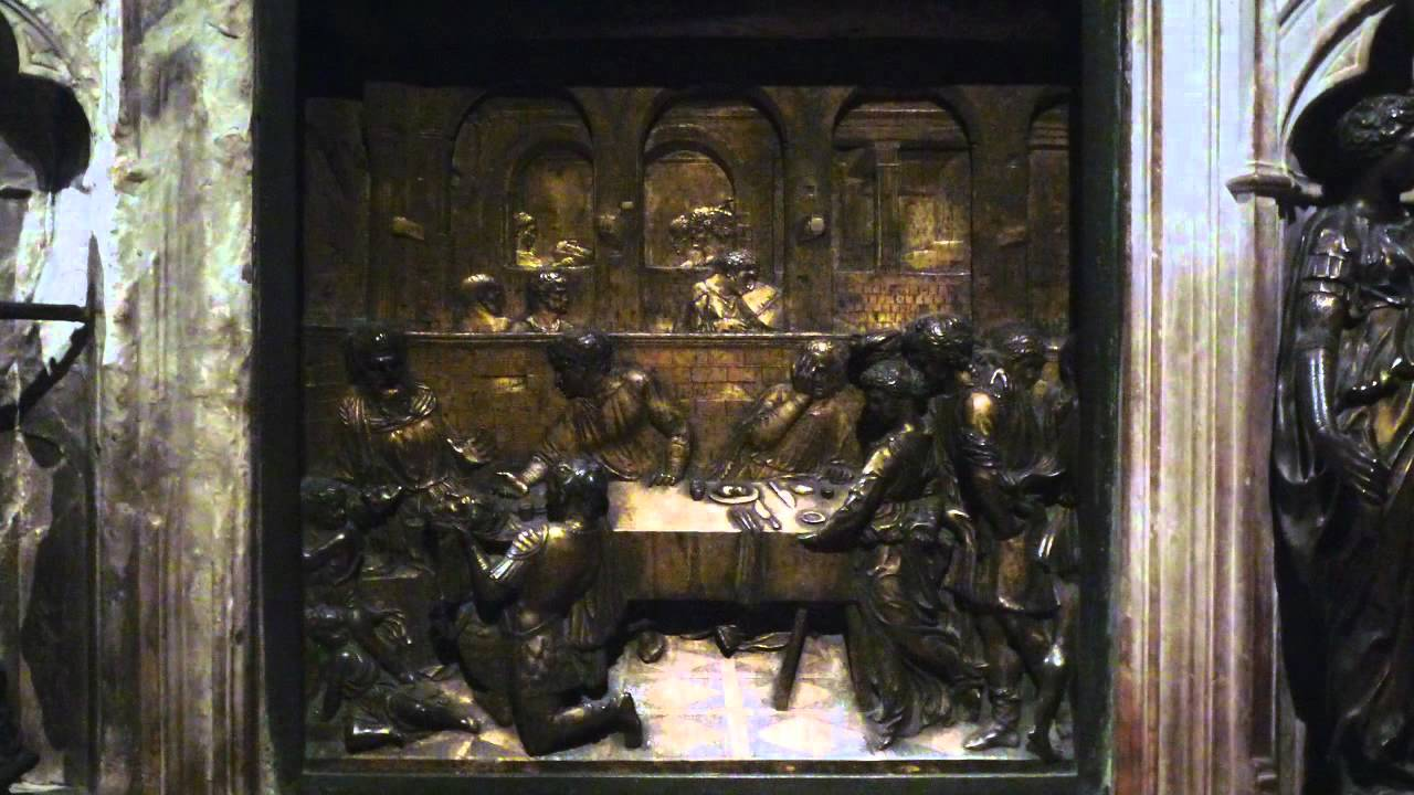 Donatello, Feast of Herod,1423-27