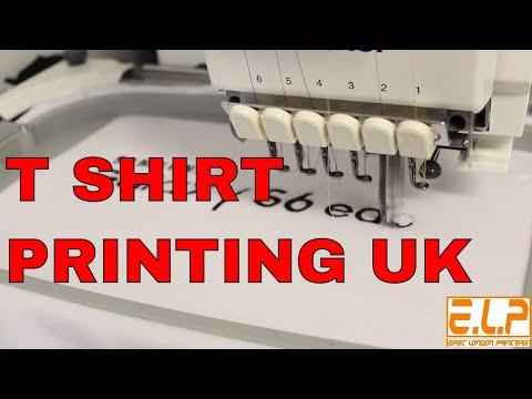 T SHIRT PRINTING UK ( Weekly News 02 )