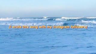 Смотреть клип Blanks Ft. My Instagram Followers - Wave