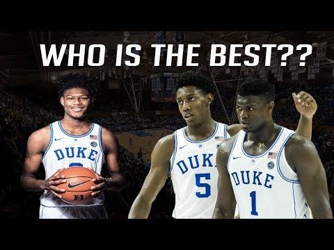 Zion Williamson vs RJ Barrett vs Cam Reddish: Who Is The BEST NBA Prospect On Duke?