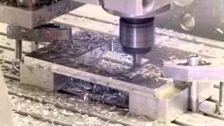 6 mm Schnitttiefe. Blade von CNC Factory mit Linux CNC Alu fräsen