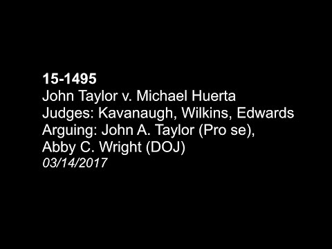 John Taylor v.  FAA (Michael Huerta) - All RC pilots should listen to this!