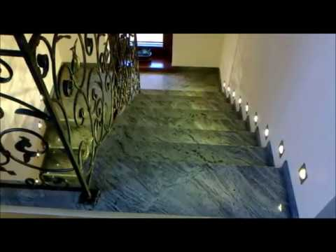 Stairs led lighting  the intelligent controller for stairs