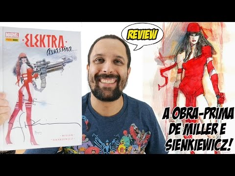 Elektra Assassina - a obra-prima de Frank Miller e Bill Sienkiewicz [Review] quadrinhos comics HQs