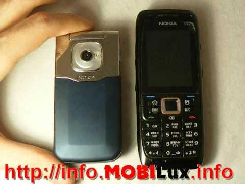 Видеообзор Nokia 7510 Supernova от журнала MOBILux