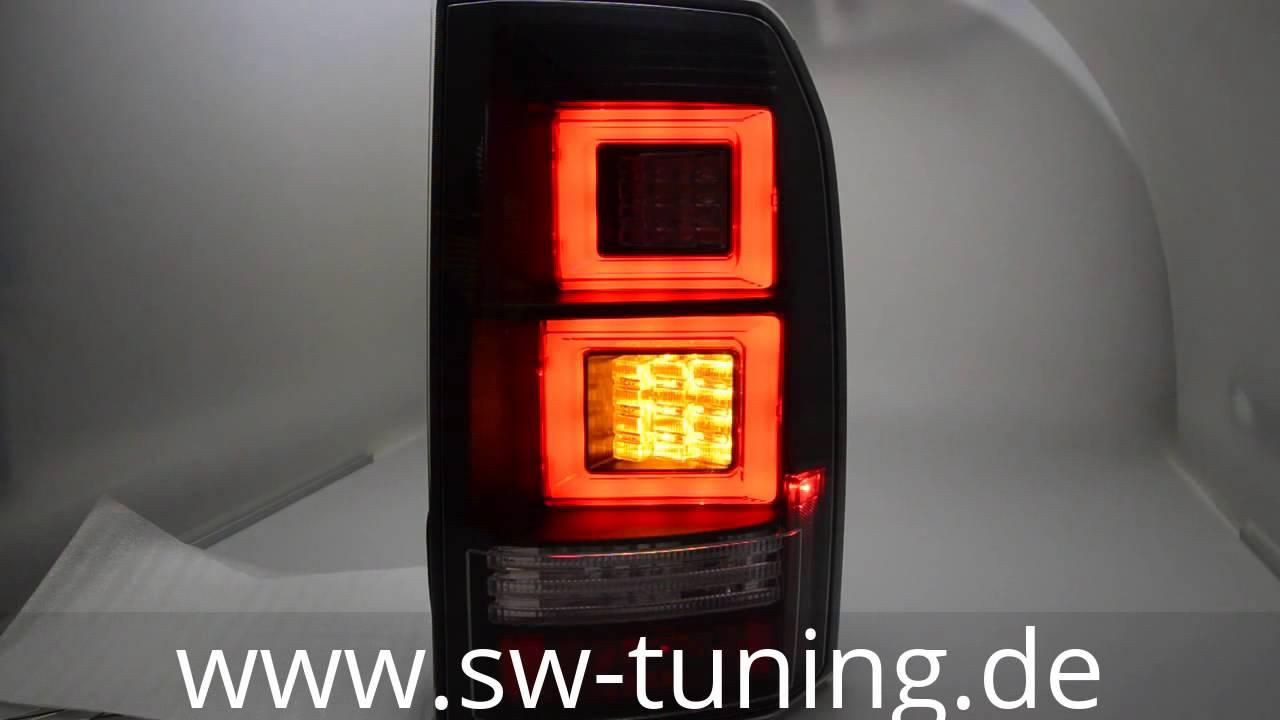 Sw Celi Led Ruckleuchten Fur Land Rover Discovery Iii 04 09 Black Lightbar Sw Tuning