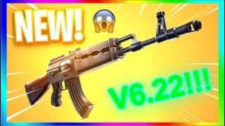 FORTNITE NEW UPDATE V6.22 PATCH NOTES!!! (FORTNITE HEAVY AR AND MORE!!)