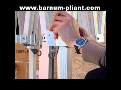 r paration poteau barnum 3x6 pro alu youtube. Black Bedroom Furniture Sets. Home Design Ideas