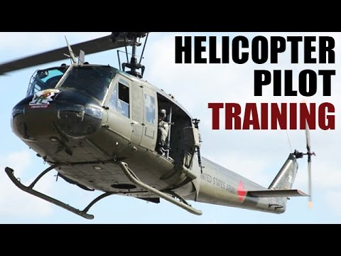 Helicopter Pilot Training | US Army Training Film: Chopper Pilot | 1967