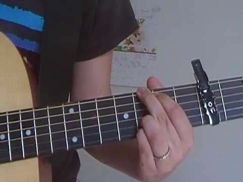 One Time Justin Bieber Guitar Tutorial