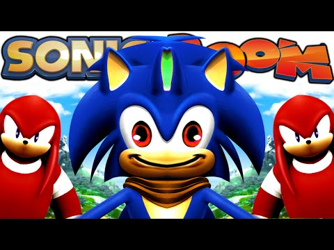 Sonic BOOM | KNUCKLES JUMP GLITCH BREAKS EVERYTHING