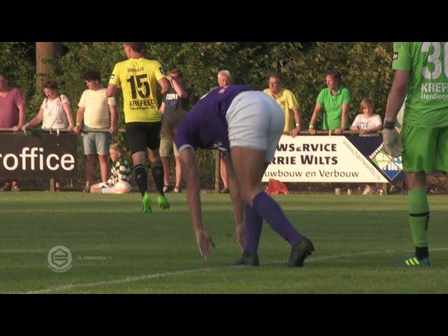 Hoogtepunten FC Groningen - KFC Uerdingen 05 0-1
