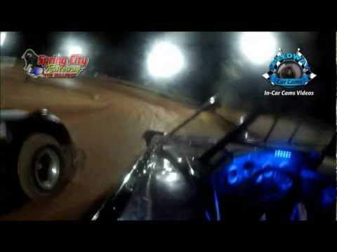 10-6-12 - Spring City Raceway Race - InCar Camera DVD Demo