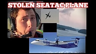 8/15 SEATAC PLANE STOLEN / CHILD PROTECTION PROGRAM #Ketron