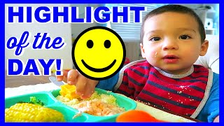 LIAM SHARES HIS HIGHLIGHT OF THE DAY!