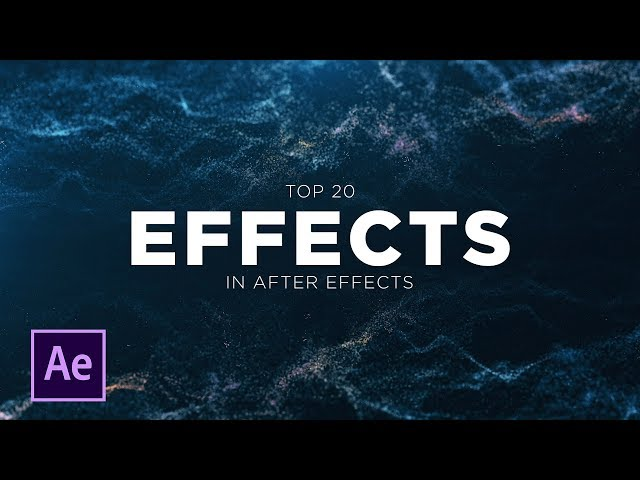 After Effects Tutorials Beginner Topics to Advanced Techniques