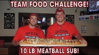 10lb Meatball Sandwich Challenge w/ Magic Mitch!!