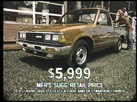 1984 Nissan Trucks - YouTube