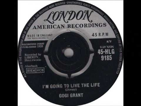 Gogi Grant  -  I'm Going To Love The One