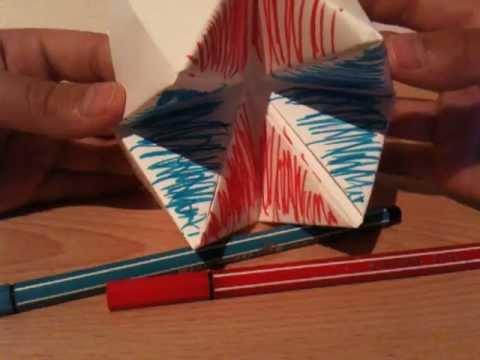 himmel und h lle origami falten faltanleitung youtube. Black Bedroom Furniture Sets. Home Design Ideas