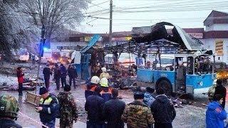 Волгоград Взрыв троллейбуса.Ситуация на этот час