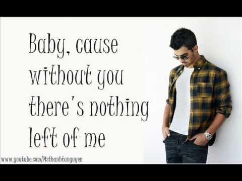 Joe Jonas - I'm Sorry FULL SONG with Lyrics on Screen [NEW SONG 2011]