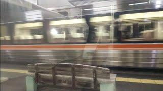 [誰も乗ってない…]JR東海373系??編成 特急(ワイドビュー)伊那路3号飯田行 三河槙原駅通過
