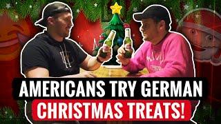 AMERICANS Try GERMAN Treats(Christmas)! screenshot 4