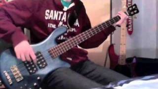 3 Doors Down - Here Without You Bass Cover (Better Quality)