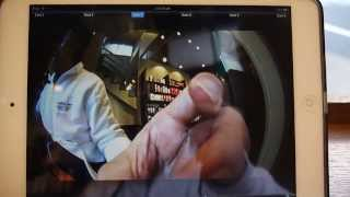 Hybrid Wireless / USB uvc  360 degree fisheye panoramic  camera demo on iPad(FEBON368 Fisheye camera have four mode you can auto switch by the hardware key on the fisheye cam. 1. 360 degree mode: 2. Wide angle lens distortion ..., 2014-01-28T14:13:33.000Z)