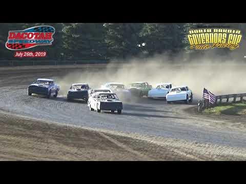 Dacotah Speedway WISSOTA Street Stock Heats (7/26/19)