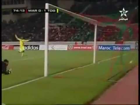 Maroc - Togo - 0 - 1, But d' Adébayor (74 e min.) 14.11.2012.