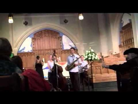Bria's Hot Five at Jazz Vespers, St Andrew's- Wesley
