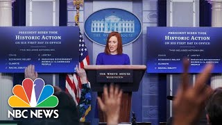 White House Holds Press Briefing: January 21 | NBC News