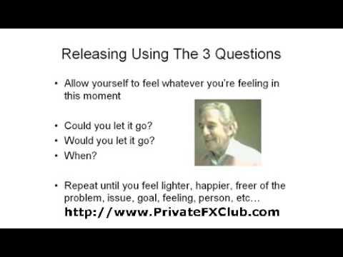 Sedona Method Review Letting Go / Releasing