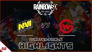 NaVi vs Wildcard Gaming | R6 Pro League S10 Finals Highlights