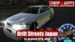 Drift Streets Japan gameplay PC HD [1080p/60fps]