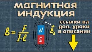 физика ИНДУКЦИЯ МАГНИТНОГО ПОЛЯ