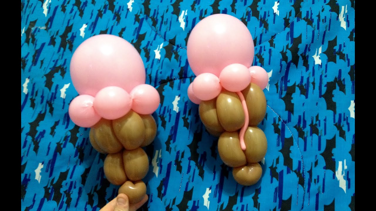ice cream cone balloon twisting food 6 youtube. Black Bedroom Furniture Sets. Home Design Ideas