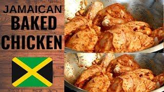 The BEST Oven Baĸed Chicken Recipe  TO BAKE CHICKEN IN OVEN How TO Prepare it !!