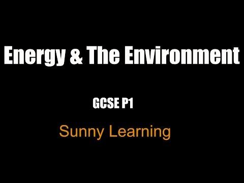 Energy & The Environment - GCSE AQA  Science Physics