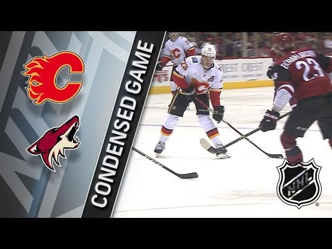 Calgary Flames vs Arizona Coyotes – Feb. 22, 2018 | Game Highlights | NHL 2017/18. Обзор