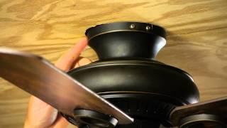 How to Flush Fit a Ceiling Fan : Ceiling Fan Maintenance