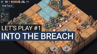 Into the Breach Gameplay German #1 (Hard) - Let