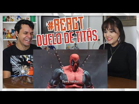 Download REACT Homem-Aranha VS. Batman | Duelo de Titãs Part. Tauz (7 Minutoz)